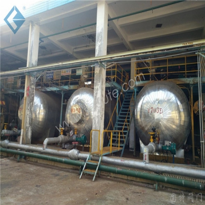 Sinopec Baling Branch-liquid chlorine Refrigeration Unit Hidden trouble Control Project Pneumatic Bellows globe valve