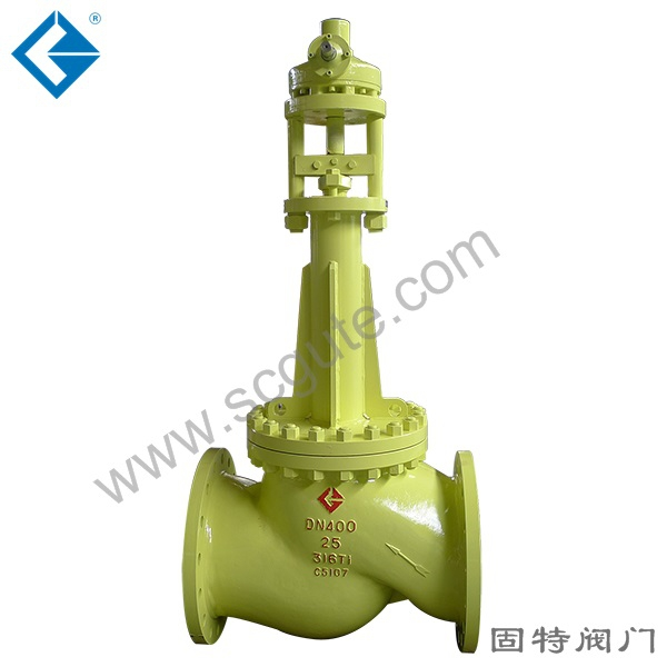 Special valve for chlorine bellows0655